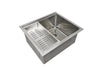 "22"" Undermount Ledge Stainless Steel Sink"