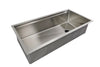 "40"" stainless steel ledge undermount sink"