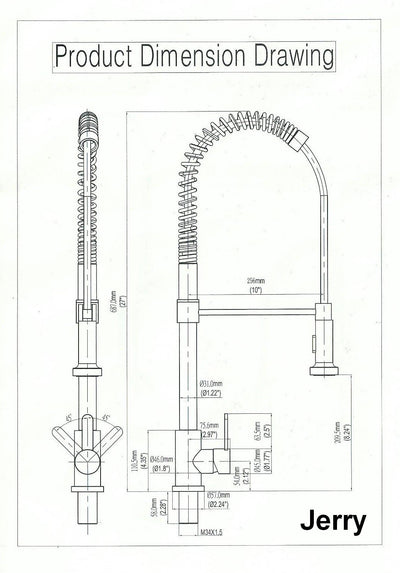 Jerry Kitchen Faucet  - Discontinued