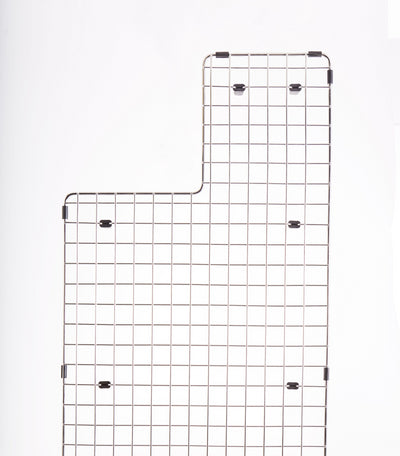 "GRID - 33"" stainless steel sink grid - right drain (GR-5LS33R)"