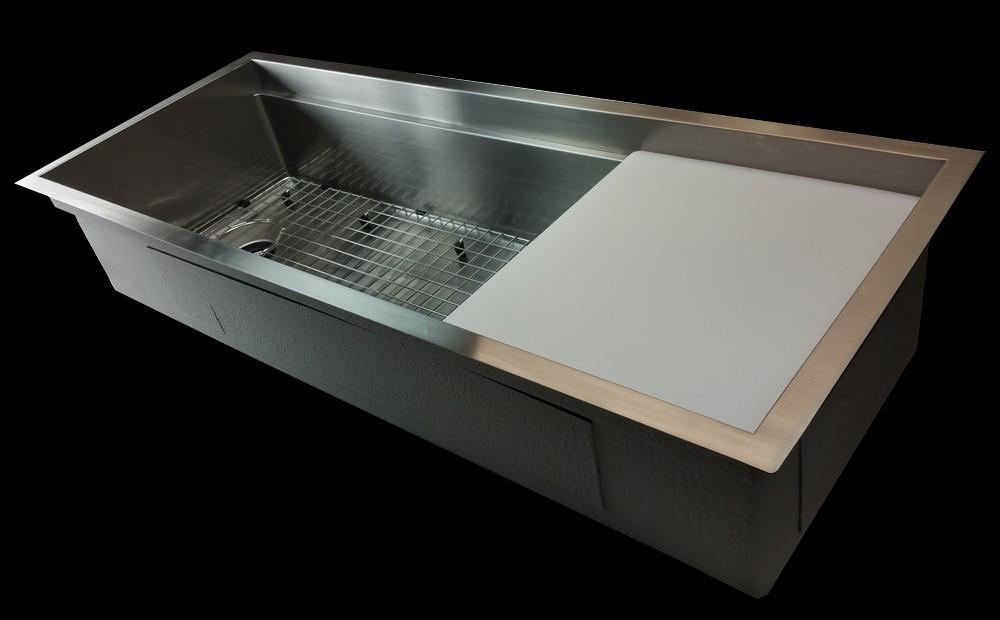 "50"" stainless steel sink grid - offset - reversible (GR-5LS50C)"