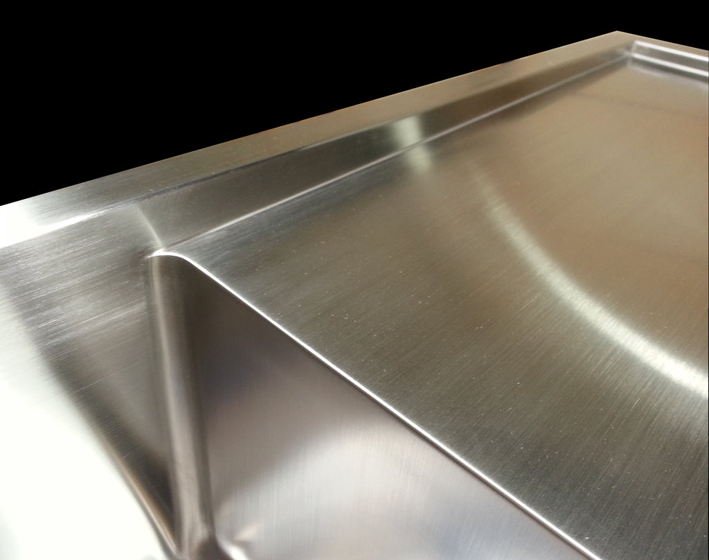 Sink with drainboard