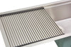 Stainless steel undermount drainboard sink roll mat