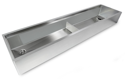 "84"" Apron Front - Ledge Sink - Double Bowl (5LAD84)"