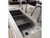 Dual Basin 50 Inch Create Good Sink with Dual Faucets