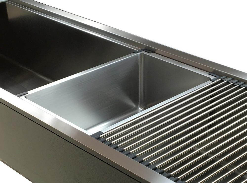 Ledge Accessories - Stainless Steel Beverage Tub (5T11)