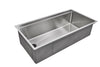 "37"" Stainless Steel Ledge Undermount Sink"