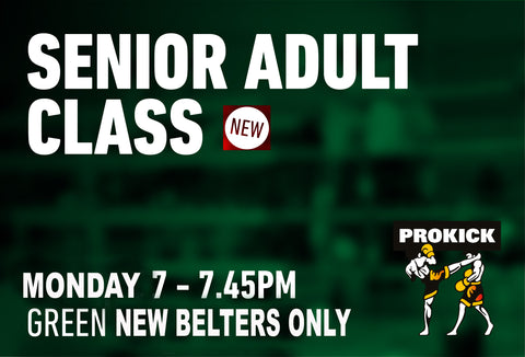 New Green belts only. This class is only for those who graded on the 19th October.