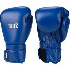Blitz PU Boxing Glove - Blue