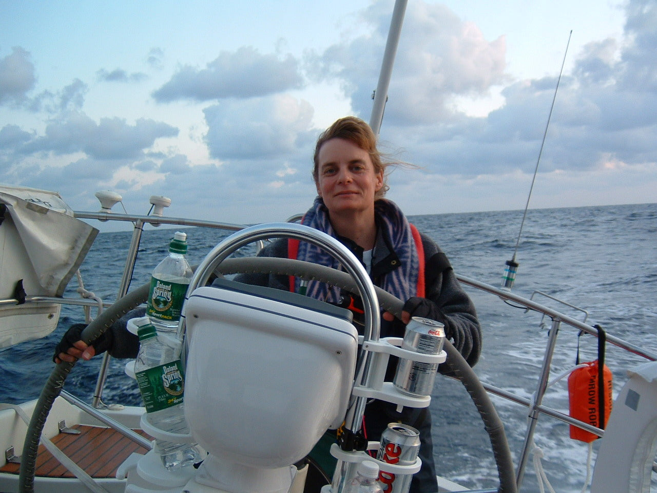 Meet Linda, our sailing sales rep for the NE