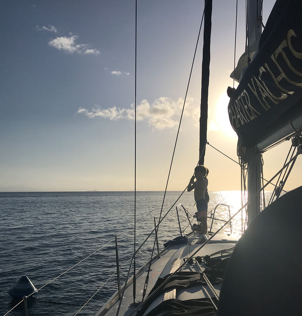 Sailing in the Whitsunday Islands