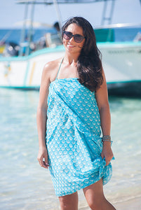 Shell Printed Cotton Sarong Pareo KVSHLL