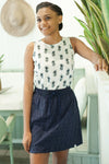 Caribbean Cotton Skirt KV432