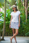 Aloha Pineapple Beach Skirt KV418