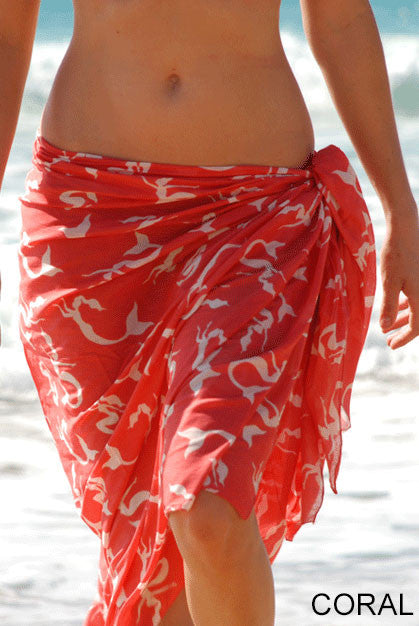Mermaid Printed Cotton Sarong Pareo KVMRMD