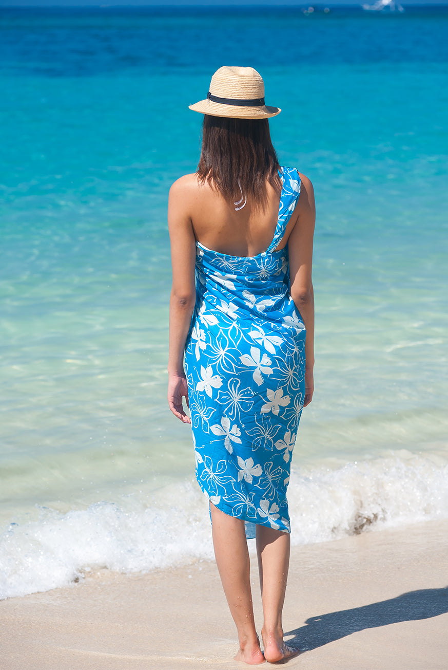 Tropical Printed Cotton Sarong Pareo KVTPCL