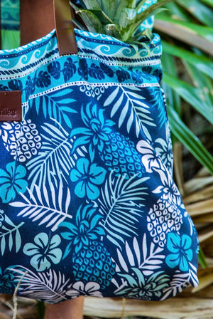 Pinacolada Cotton Beach Bag KVBBPC