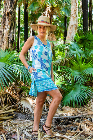 Pina Colada Beach Dress KV521