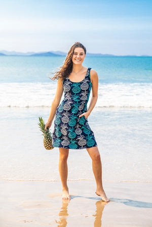 New Tango Cotton Beach Dress KV487