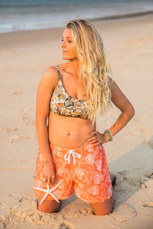 Coral Reef Cotton Boxer Shorts KV509