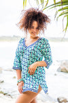 Anchor Cotton Beach Tunic Coverup KV502