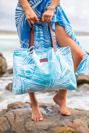 Island View Cotton Beach Bag KVBBIV