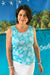 Coral Reef Cotton Tank Top KV536