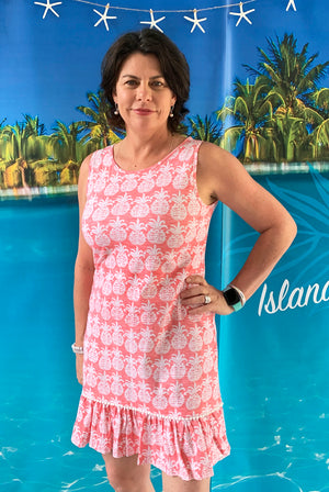 Mahalo Cotton Beach Dress KV528