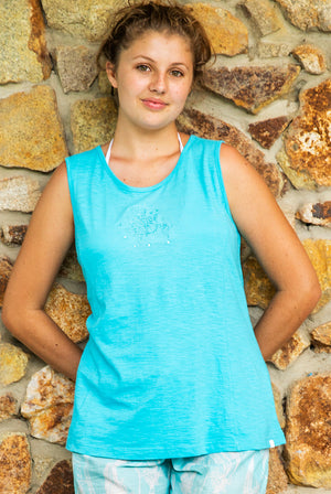 Turtle Cotton Tank Top KV535