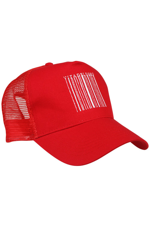 BARCODE RED TRUCKER