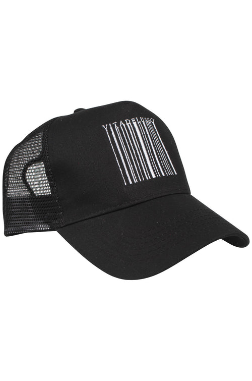 BLACK BARCODE TRUCKER