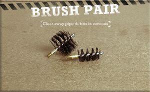 Super-Rod Brush Pair