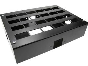 24-way Data Box-24 x 6C data box with 4 x 35mm square cut-outs (with blanks)