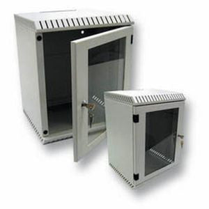 "Mini-Rack 10"" light 6U front Door with window"
