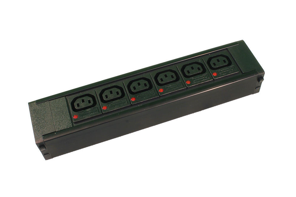 6 X IEC C13, Individually Fused,10Amp  Socketed, Hot Swap Module for PDU Chassis