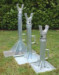Cable Drum Jacks (pair) mechanical Jack 6 Tonne