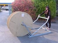 Cable Drum Handling-Cable Drum Lift Frame