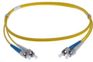2m FC-FC singlemode - 3mm duplex patchcord YELLOW