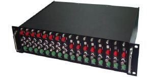 2U Rack Mount Chassis for 1 & 2 Ch Fibre Transmission Cards