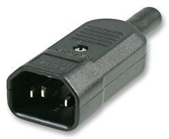 IEC C14 re-wireable plug