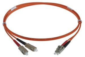 5m LC-SC 50/125um - 2mm duplex patchcord ORANGE
