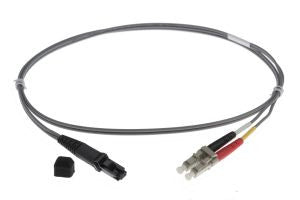1m MTRJ-LC 62.5/125um - 2mm duplex patchcord GREY