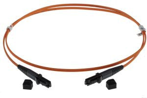 1m MTRJ-MTRJ 50/125um - 3mm duplex patchcord ORANGE