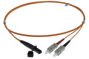 2m MTRJ-SC 50/125um - 3mm duplex patchcord ORANGE