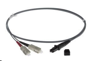 1m MTRJ-SC 62.5/125um - 3mm duplex patchcord GREY