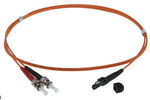 15m MTRJ-ST 50/125um - 3mm duplex patchcord ORANGE