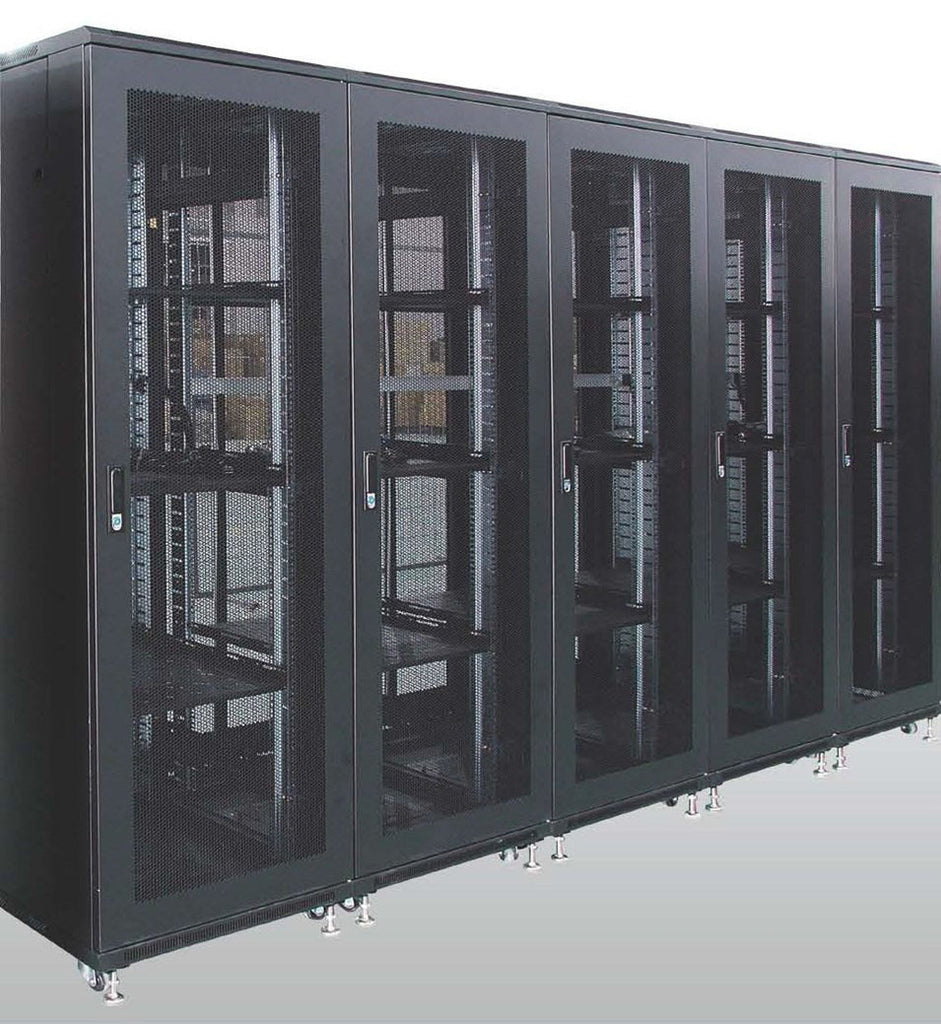 Matrix Network Cabinets with Glass Door