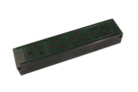 4 x Angled Left UK 13Amp  Socketed, Hot Swap Module for PDU Chassis