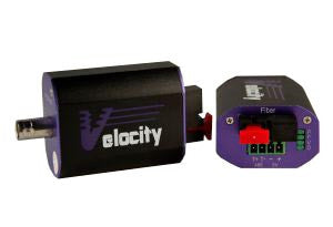 Velocity-Mini 1 Channel SM Video/Data Digital Optical Converter (Pair)