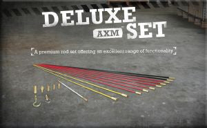 Super-Rod Rod Kits-Deluxe Set 10 metres - 4 Rod Flexibilities